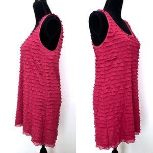 Free People Dresses - Free People Pink Ruffle Dress